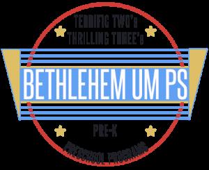 Bethlehem UM Preschool logo