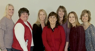 Brittany, Billie Jean, Missy, Karen, Kara, Stacy, Tricia - Teaching Team